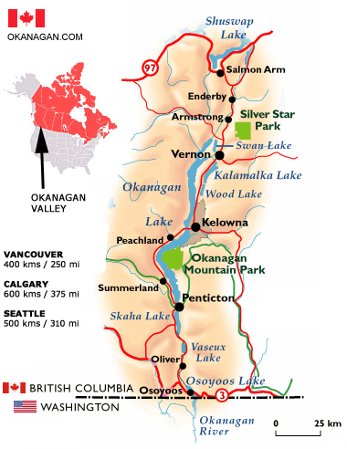 Okanagan Wine Tours Osoyoos